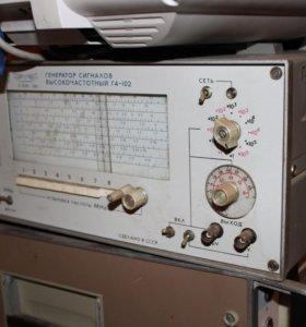 Генератор сигналов высокочастотный Г4-102