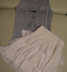 Юбка и блузка-топ Waggon Paris