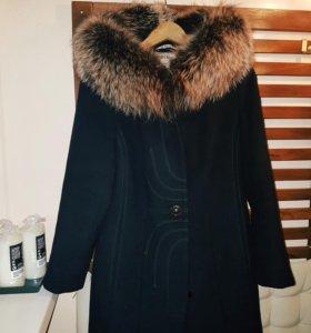 Зимнее пальто, р.46