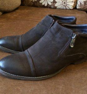 Ботинки змимние мужские