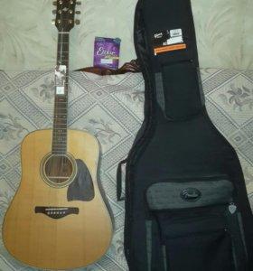 Акустическая гитара ibanez AW85 RLG