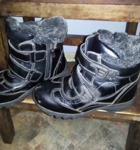 Зимние ботинки 33р