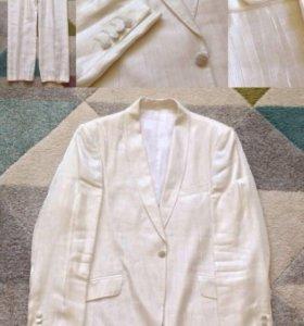 Свадебный костюм двойка айвори (р. 50)