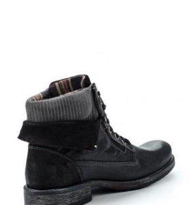 Кожаные ботинки s. Oliver