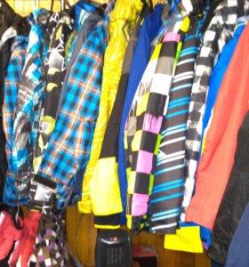 Куртки сноублордические