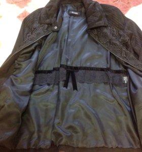 Замшевая куртка 48 размер