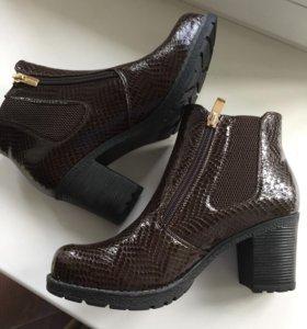 Новые весенние ботиночки, размер 38