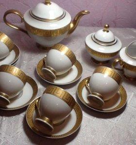 сервиз кофейно чайный 6 персон Чехия