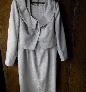 Костюм женский выходной, платье и болеро
