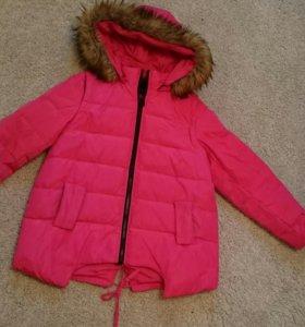 Куртка весна-осень теплая в хорошем состояние