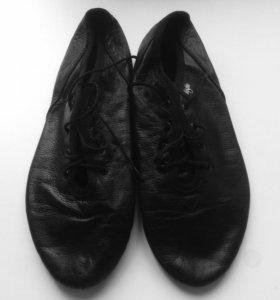 Кожаные джазовки 'Grishko', размер 38-38.5