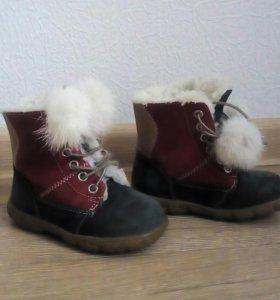 Ботинки зимние 21 размер