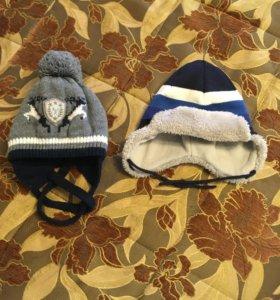 Супер тёплые шапки для зимы р.44-48 и 54