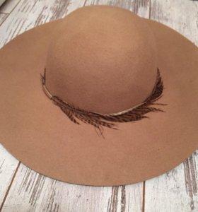 Шляпа женская шерстяная