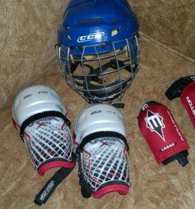 Хоккейная защита,шлем