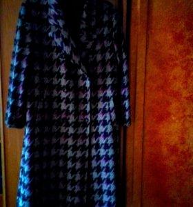 стильное новое пальто шерсть