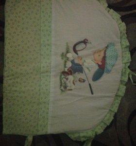 Набор в кроватку и держатель для бондахила
