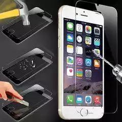 Защитное калёное бронестекло на iPhone 5/5s
