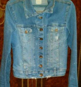 Куртка джинсовая (джинсовка)