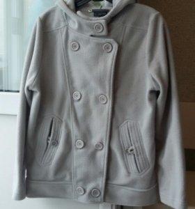 Куртка-пальто из флиса