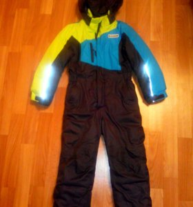 Комбенезон зимний на мальчика, размер 110.