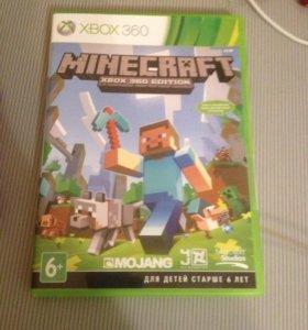 Игра Майнкрафт на Xbox 360