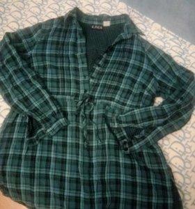 Рубашка-блуза для беременных