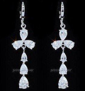 Серьги с кристаллами Swarovski