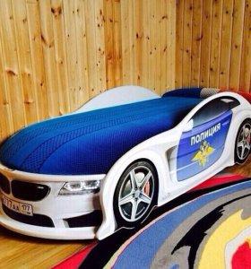 Кровать машина в наличии