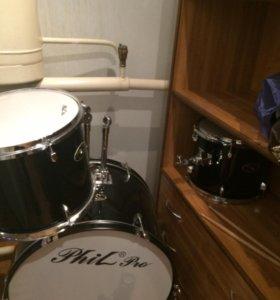 Профиссиональные ударные барабаны