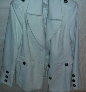 Пальто белое Incity 46