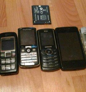 Телефоны на запчасти каждый 100 руб