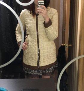 Куртка осенняя 48 размер