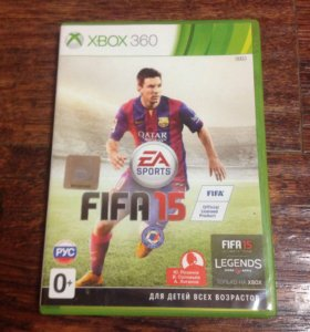 FIFA 15 на XBOX 360
