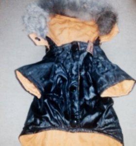 Теплая двухсторонняя курточка
