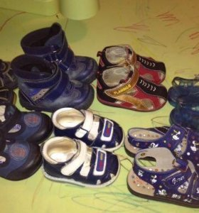 Обувь мальчику 17-22 размер