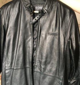 Куртка из натуральной кожи с жилеткой