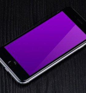 iPhone 3D ультрафиолетовые защитные стекла
