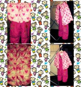 детский костюм на девочку 9-12 мес