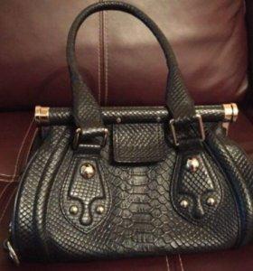 сумка Celine из натуральной кожи