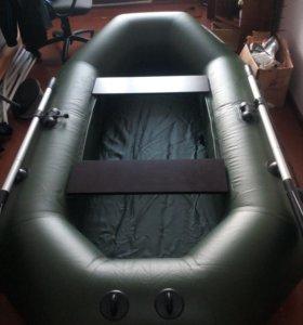 Лодка пвх 240 новая уфимка есть крепеж под транец