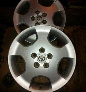 Автомобильные диски 4 шт.