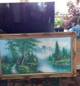 Картина полотно/масло