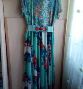 Новое платье(размер 50-56)