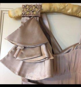 Шикарное новое вечернее платье 40-42