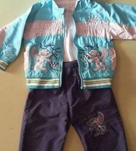 Ветровочный костюм детский