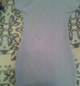 Новые вязаное платье