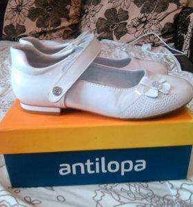Туфли антилопа размер 32