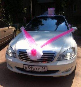 Свадебный комплект на машины