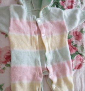 Детский комбинезон с 1-3 месяцев